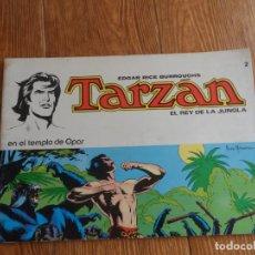 Tebeos: TARZAN EL REY DE LA JUNGLA Nº 2 EDITORIAL NOVARO. Lote 288366653