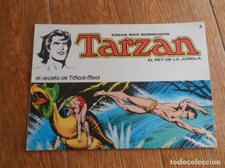TARZAN EL REY DE LA JUNGLA Nº 6 EDITORIAL NOVARO (Tebeos y Comics - Novaro - Tarzán)