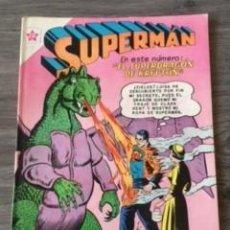 BDs: SUPERMAN Nº 310 EL SUPERDRAGON DE KRYPTON, EDITORIAL NOVARO, AÑO 1961, EN BUEN ESTADO. Lote 288453583