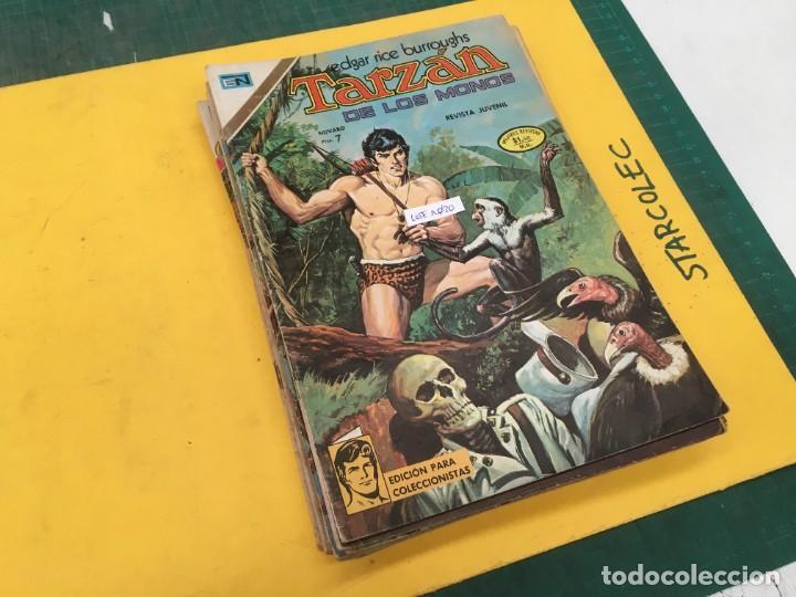 TARZAN DE LOS MONOS NOVARO, 13 NUMEROS (VER DESCRIPCION) EDITORIAL NOVARO AÑO 1971-1973 (Tebeos y Comics - Novaro - Tarzán)