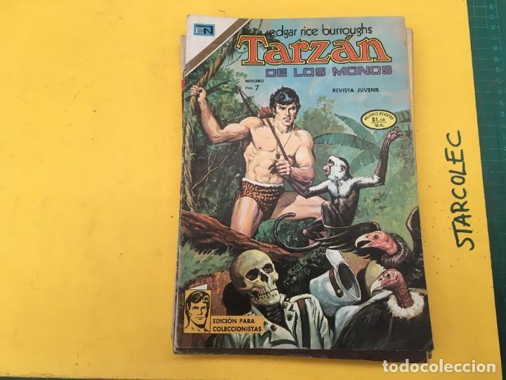 Tebeos: TARZAN DE LOS MONOS NOVARO, 13 NUMEROS (VER DESCRIPCION) EDITORIAL NOVARO AÑO 1971-1973 - Foto 2 - 288458698