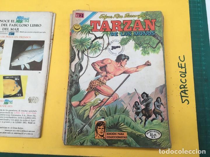 Tebeos: TARZAN DE LOS MONOS NOVARO, 13 NUMEROS (VER DESCRIPCION) EDITORIAL NOVARO AÑO 1971-1973 - Foto 4 - 288458698