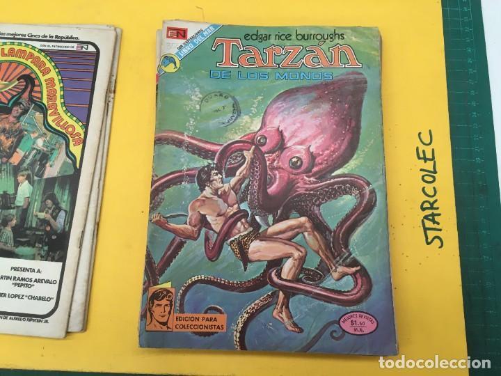 Tebeos: TARZAN DE LOS MONOS NOVARO, 13 NUMEROS (VER DESCRIPCION) EDITORIAL NOVARO AÑO 1971-1973 - Foto 5 - 288458698