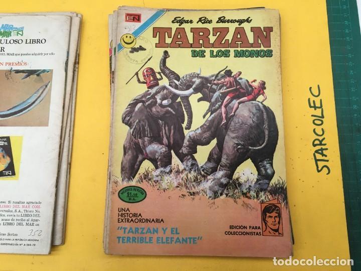 Tebeos: TARZAN DE LOS MONOS NOVARO, 13 NUMEROS (VER DESCRIPCION) EDITORIAL NOVARO AÑO 1971-1973 - Foto 6 - 288458698