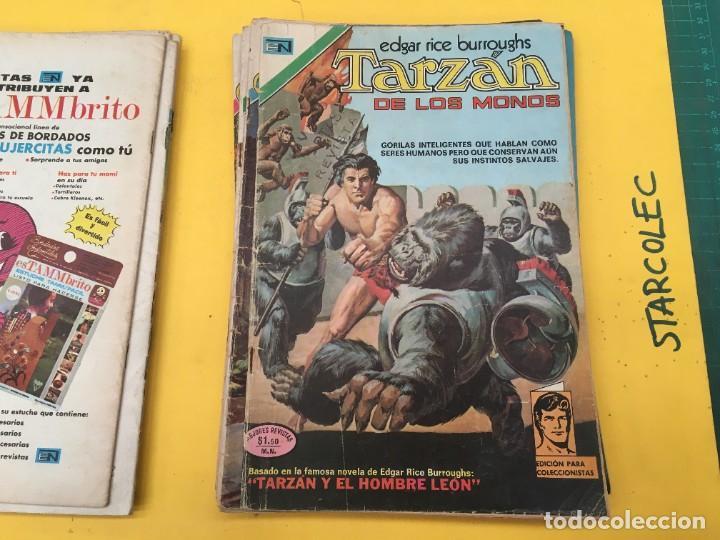 Tebeos: TARZAN DE LOS MONOS NOVARO, 13 NUMEROS (VER DESCRIPCION) EDITORIAL NOVARO AÑO 1971-1973 - Foto 7 - 288458698