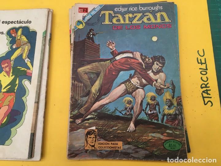 Tebeos: TARZAN DE LOS MONOS NOVARO, 13 NUMEROS (VER DESCRIPCION) EDITORIAL NOVARO AÑO 1971-1973 - Foto 8 - 288458698