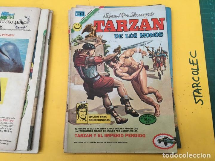 Tebeos: TARZAN DE LOS MONOS NOVARO, 13 NUMEROS (VER DESCRIPCION) EDITORIAL NOVARO AÑO 1971-1973 - Foto 9 - 288458698
