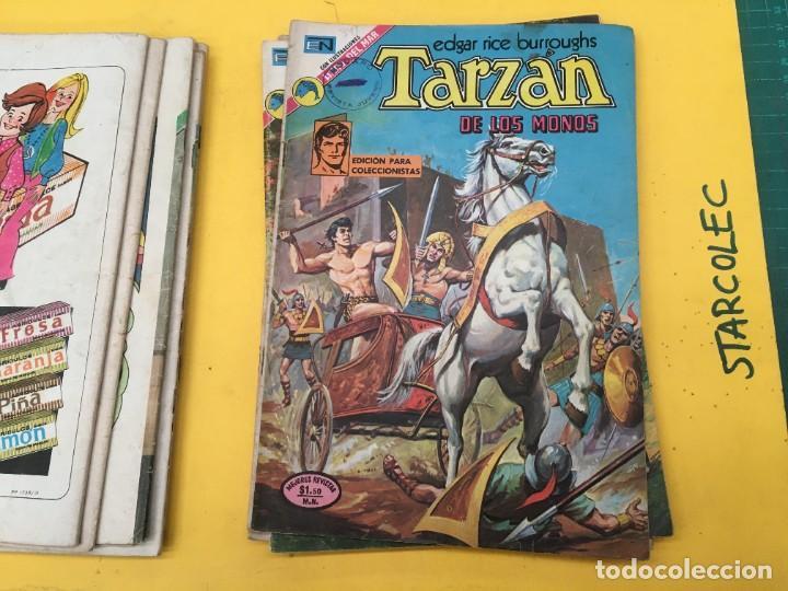 Tebeos: TARZAN DE LOS MONOS NOVARO, 13 NUMEROS (VER DESCRIPCION) EDITORIAL NOVARO AÑO 1971-1973 - Foto 10 - 288458698