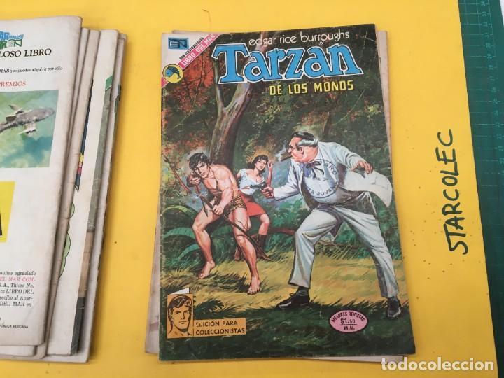 Tebeos: TARZAN DE LOS MONOS NOVARO, 13 NUMEROS (VER DESCRIPCION) EDITORIAL NOVARO AÑO 1971-1973 - Foto 11 - 288458698