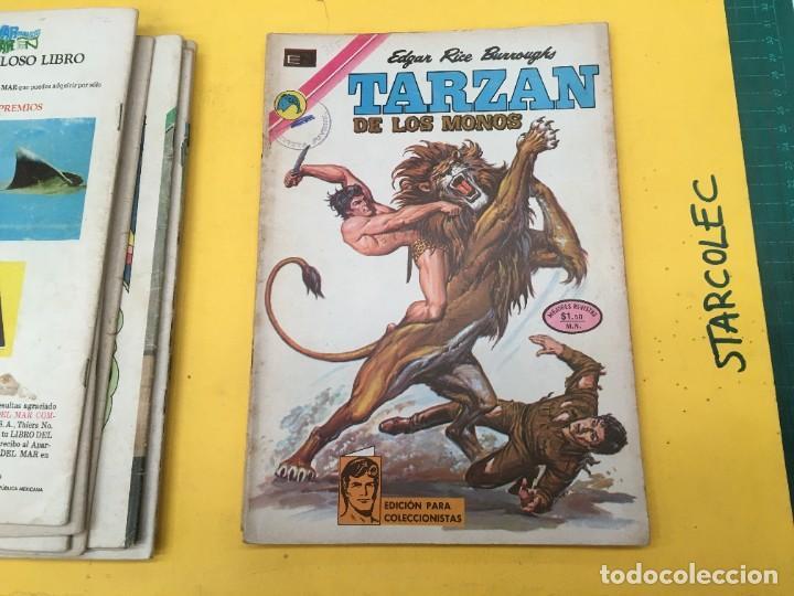 Tebeos: TARZAN DE LOS MONOS NOVARO, 13 NUMEROS (VER DESCRIPCION) EDITORIAL NOVARO AÑO 1971-1973 - Foto 12 - 288458698