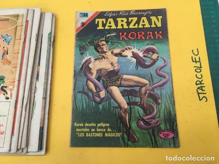 Tebeos: TARZAN DE LOS MONOS NOVARO, 13 NUMEROS (VER DESCRIPCION) EDITORIAL NOVARO AÑO 1971-1973 - Foto 14 - 288458698