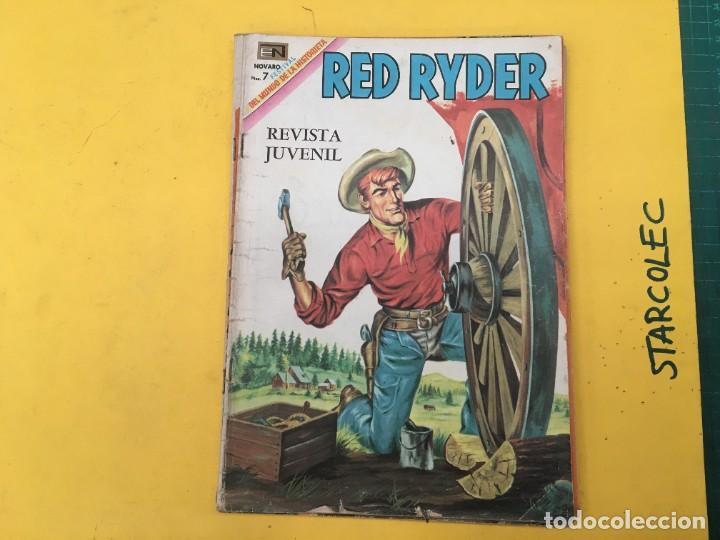 Tebeos: RED RYDER NOVARO, 5 NUMEROS (VER DESCRIPCION) EDITORIAL NOVARO AÑO 1964-1972 - Foto 2 - 288460933