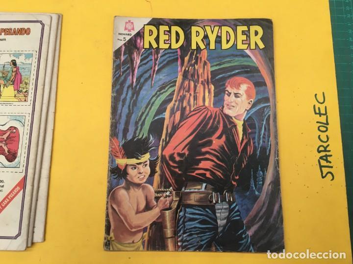 Tebeos: RED RYDER NOVARO, 5 NUMEROS (VER DESCRIPCION) EDITORIAL NOVARO AÑO 1964-1972 - Foto 5 - 288460933
