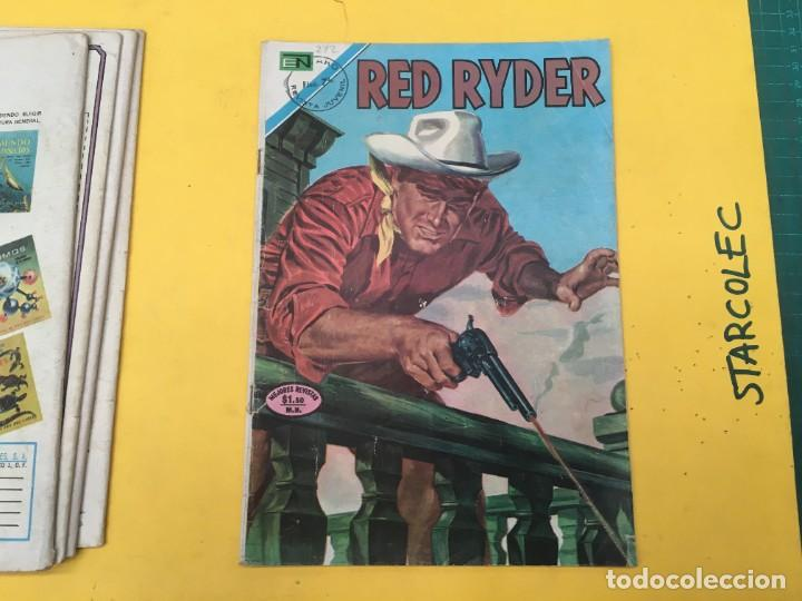 Tebeos: RED RYDER NOVARO, 5 NUMEROS (VER DESCRIPCION) EDITORIAL NOVARO AÑO 1964-1972 - Foto 6 - 288460933