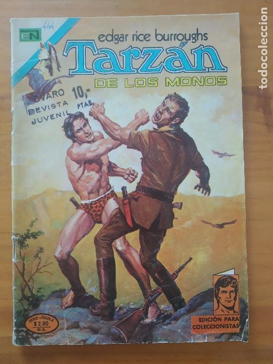 TARZAN DE LOS MONOS - Nº 444 - SERIE AGUILA - EDITORIAL NOVARO (6T) (Tebeos y Comics - Novaro - Tarzán)