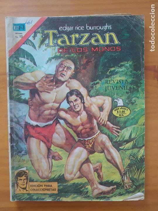TARZAN DE LOS MONOS - Nº 461 - SERIE AGUILA - EDITORIAL NOVARO (6T) (Tebeos y Comics - Novaro - Tarzán)