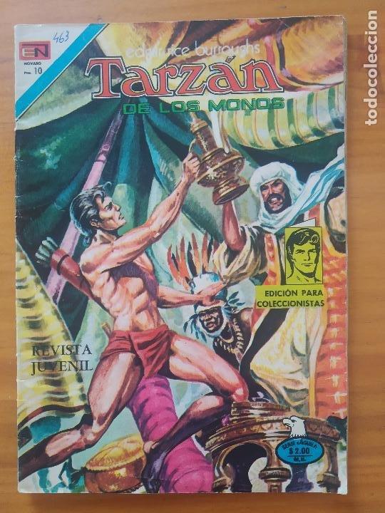 TARZAN DE LOS MONOS - Nº 463 - SERIE AGUILA - EDITORIAL NOVARO (6T) (Tebeos y Comics - Novaro - Tarzán)