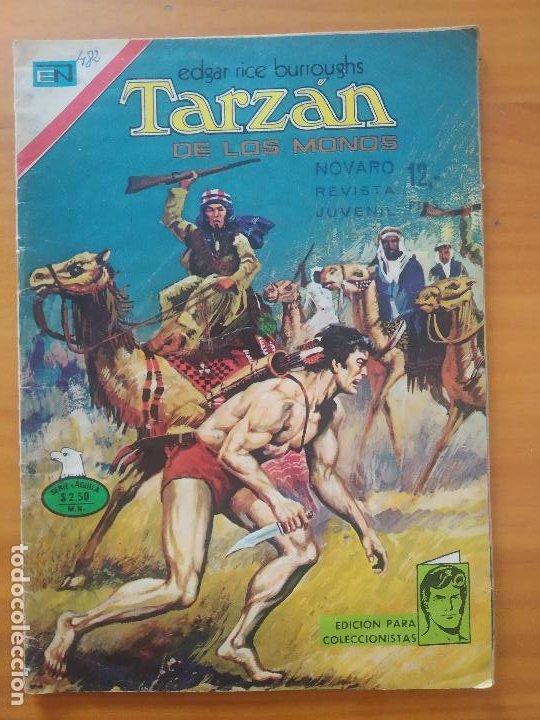 TARZAN DE LOS MONOS - Nº 482 - SERIE AGUILA - EDITORIAL NOVARO (6T) (Tebeos y Comics - Novaro - Tarzán)