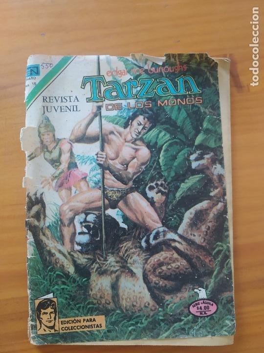 TARZAN DE LOS MONOS - Nº 550 - SERIE AGUILA - EDITORIAL NOVARO - LEER DESCRIPCION (6T) (Tebeos y Comics - Novaro - Tarzán)