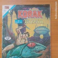 Tebeos: KORAK EL HIJO DE TARZAN - Nº 38 - SERIE AGUILA - EDITORIAL NOVARO (6T). Lote 288547993