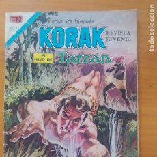 Tebeos: KORAK EL HIJO DE TARZAN - Nº 50 - SERIE AGUILA - EDITORIAL NOVARO (6T). Lote 288548513