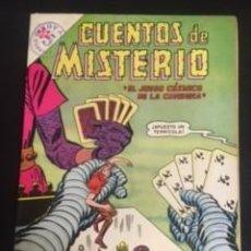 Tebeos: CUENTOS DE MISTERIO Nº32 EL JUEGO DE MISTERIO, EDITORIAL NOVARO 1963. Lote 288569623
