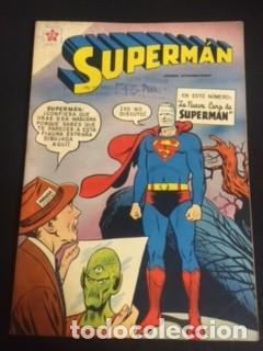 SUPERMAN Nº EXTRAORDINARIO, LA NUEVA CARA DE SUPERMAN, EDITORIAL NOVARO 1959 (Tebeos y Comics - Novaro - Superman)