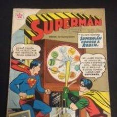 Tebeos: SUPERMAN Nº EXTRAORDINARIO, SUPERMAN CONOCE A ROBÍN, EDITORIAL NOVARO 1959. Lote 288577058