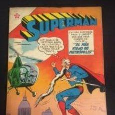 Tebeos: SUPERMAN Nº EXTRAORDINARIO, EL MAS VIEJO DE METRÓPOLIS, EDITORIAL NOVARO 1960. Lote 288577358