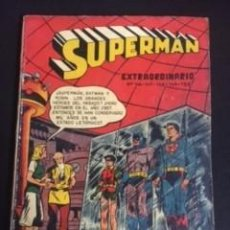 Tebeos: SUPERMAN Nº EXTRAORDINARIO 146-147-148-149-150, EDITORIAL NOVARO 1958. Lote 288578053