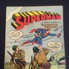 Tebeos: SUPERMAN Nº EXTRAORDINARIO 126-127-128-129-130, EDITORIAL NOVARO 1958. Lote 288578218