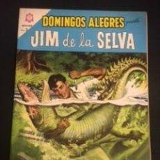 Tebeos: DOMINGOS ALEGRES, JIM DE LA SELVA, EDITORIAL NOVARO 1964. Lote 288579323