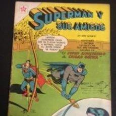 Tebeos: SUPERMAN Y SUS AMIGOS Nº22, EDITORIAL NOVARO 1957 EN BUEN ESTADO. Lote 288579953