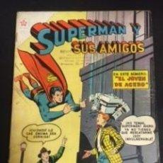 Tebeos: SUPERMAN Y SUS AMIGOS Nº23, EDITORIAL NOVARO 1957 EN BUEN ESTADO. Lote 288580008