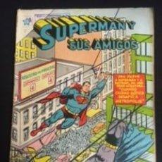 Tebeos: SUPERMAN Y SUS AMIGOS Nº2, EDITORIAL NOVARO 1956 EN BUEN ESTADO. Lote 288580353
