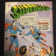 Tebeos: SUPERMAN Nº 209 BIZARRO LA SÚPER CRIATURA DE ACERO, EDITORIAL NOVARO, AÑO 1959, EN BUEN ESTADO. Lote 288580863