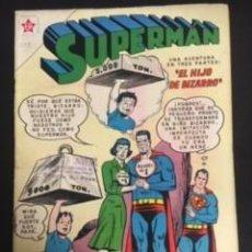 Tebeos: SUPERMAN Nº 299 EL HIJO DE BIZARRO, EDITORIAL NOVARO, AÑO 1961, EN BUEN ESTADO. Lote 288581363