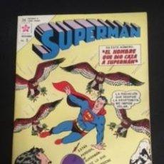 Tebeos: SUPERMAN Nº 411 EL HOMBRE QUE DIO CAZA A SUPERMAN, EDITORIAL NOVARO, AÑO 1963, EN BUEN ESTADO. Lote 288582173