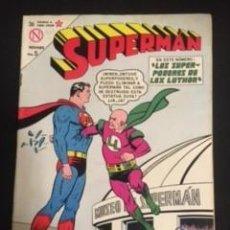Tebeos: SUPERMAN Nº 423 LOS SÚPER-PODERES DE LEX LUTHOR, EDITORIAL NOVARO, AÑO 1963, EN BUEN ESTADO. Lote 288583608