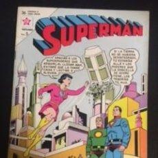 Tebeos: SUPERMAN Nº 413 LUISA LANE LA SUPERDONCELLA, EDITORIAL NOVARO, AÑO 1963, EN BUEN ESTADO. Lote 288583808