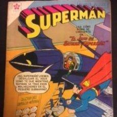 Tebeos: SUPERMAN Nº 160 EL JEFE DE BATMAN Y SUPERMAN, EDITORIAL NOVARO, AÑO 1958, EN BUEN ESTADO. Lote 288584458