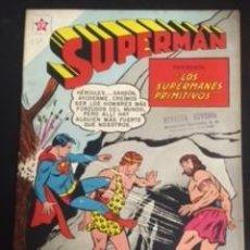 Tebeos: SUPERMAN Nº 230 LOS SUPERMANES PRIMITIVOS, EDITORIAL NOVARO, AÑO 1960, EN BUEN ESTADO. Lote 288584483