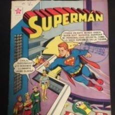 Tebeos: SUPERMAN Nº 259 EL SÚPER-MOZO DEL ESPACIO, EDITORIAL NOVARO, AÑO 1960, EN BUEN ESTADO. Lote 288584683