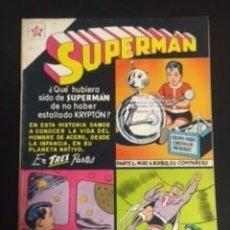 Tebeos: SUPERMAN Nº 253, EDITORIAL NOVARO, AÑO 1960, EN BUEN ESTADO. Lote 288584688