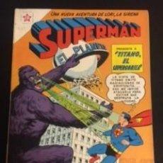Tebeos: SUPERMAN Nº 287 TITANO EL SUPERGORILA, EDITORIAL NOVARO, AÑO 1961, EN BUEN ESTADO. Lote 288585193