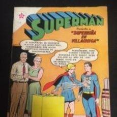 Tebeos: SUPERMAN Nº 318 SUPERNIÑA EN VILLACHICA, EDITORIAL NOVARO, AÑO 1961, EN BUEN ESTADO. Lote 288585223