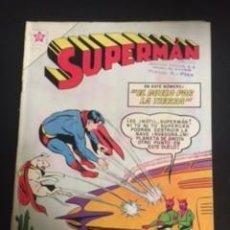 Tebeos: SUPERMAN Nº 314 EL DUELO POR LA TIERRA, EDITORIAL NOVARO, AÑO 1961, EN BUEN ESTADO. Lote 288585248