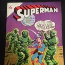 Tebeos: SUPERMAN Nº 312 EL EJERCITO DE HOMBRES DE KRYPTONITA, EDITORIAL NOVARO, AÑO 1961, EN BUEN ESTADO. Lote 288585278