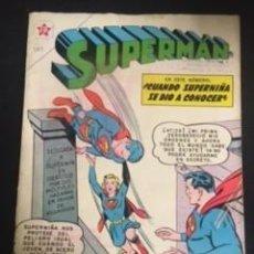 Tebeos: SUPERMAN Nº 303 CUANDO SUPERNIÑA SE DIO A CONOCER, EDITORIAL NOVARO, AÑO 1961, EN BUEN ESTADO. Lote 288585358