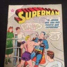 Tebeos: SUPERMAN Nº 300 EL JOVEN QUE ERA MAS FUERTE QUE SUPERMAN, EDITORIAL NOVARO, AÑO 1961, EN BUEN ESTADO. Lote 288585403